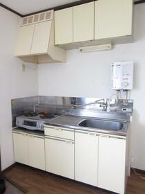 メゾンいずみ 201号室のキッチン