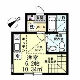 BRICKHOUSE横浜・103号室の間取り