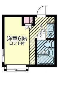 ネオステージ妙蓮寺壱番館 101号室の間取り