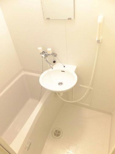 レオパレスアンソレイエ 203号室のキッチン