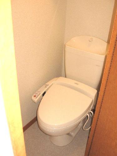 レオパレスアンソレイエ 203号室の風呂