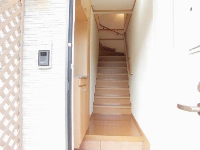 ツインコートB 02010号室の玄関