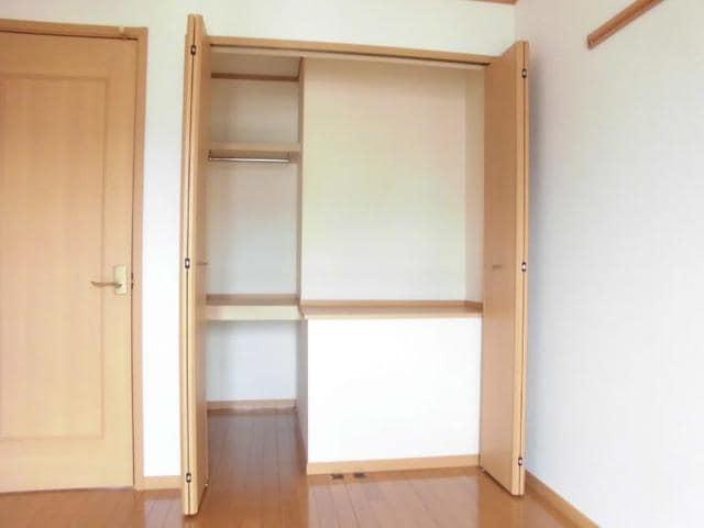 ツインコートB 02010号室の収納