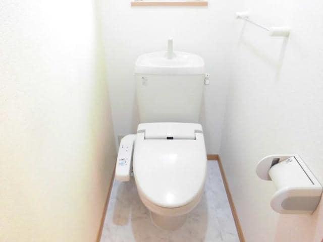 ツインコートB 02010号室のトイレ