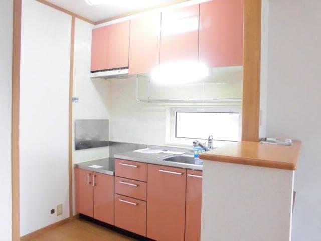 ツインコートB 02010号室のキッチン