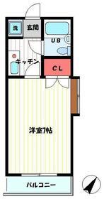 南行徳プラザA-1 108号室の間取り