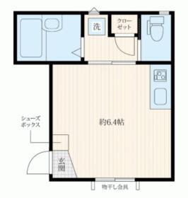 プレミアムコート横浜根岸・102号室の間取り