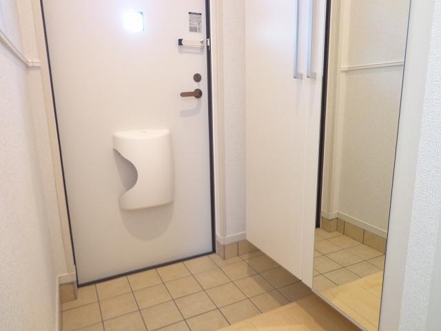 カーサ ルーチェ 01020号室の洗面所