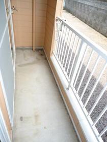パインヒルハイツ 103号室のバルコニー
