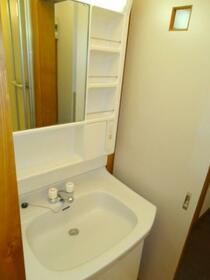 パインヒルハイツ 103号室の洗面所