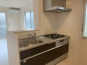シューペリアⅡ 203号室のキッチン