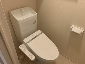 シューペリアⅡ 203号室のトイレ