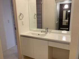 シューペリアⅡ 203号室の洗面所