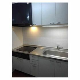 服部ビル 0801号室のキッチン
