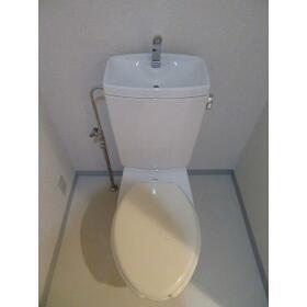 服部ビル 0801号室のトイレ