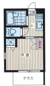 プロスパーマンション鷺宮・102号室の間取り