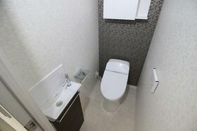 デュオステージ品川西大井 103号室のトイレ
