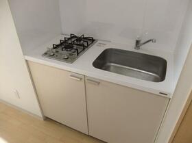 ビューハイツ暁 301号室のキッチン