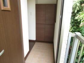 リーベン 201号室の玄関