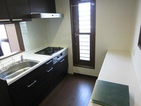 リーベン 201号室のキッチン