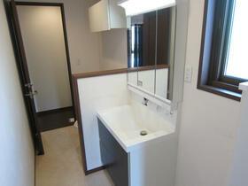 リーベン 201号室の洗面所
