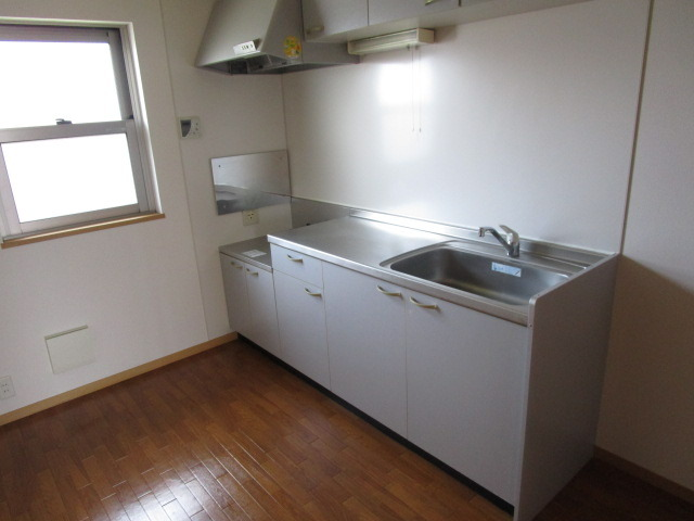 ヒラソール マルセイ Ⅰ棟 201号室のキッチン
