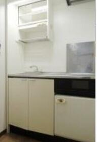 ハイ・シティ湯島 601号室のキッチン