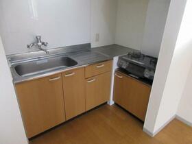 バルーン金山 201号室のキッチン