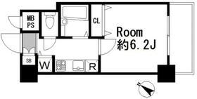 メインステージ日本橋馬喰町 403号室の間取り