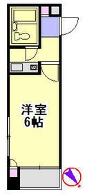 クリオ入谷壱番館・406号室の間取り