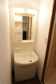 ブリヂネル堀留 302号室の洗面所