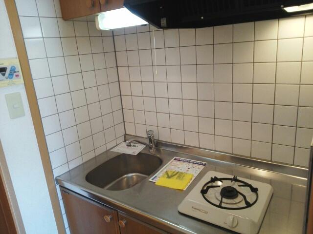メゾン ベルクール 02020号室のキッチン