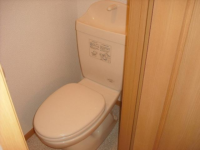 メゾン ベルクール 02020号室のトイレ