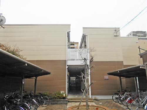 レオパレスイン京都の外観