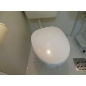 サニーホームズ府中 0201号室のトイレ