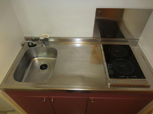 レオパレスmia domo 203号室のキッチン