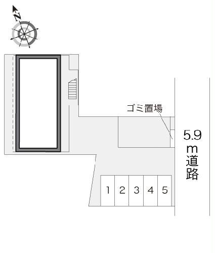 レオパレスアメニティ龍禅寺 201号室のその他