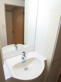 CASSIA目黒 0110号室の洗面所