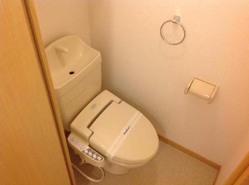 レオネクスト桂 210号室のトイレ