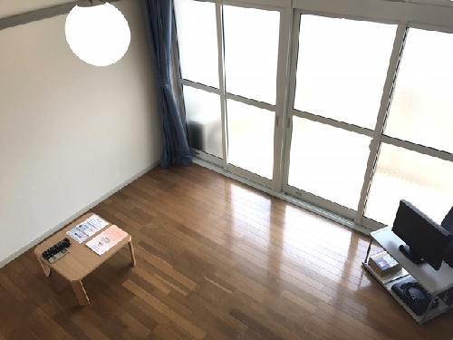 レオパレスGOLD 106号室のリビング