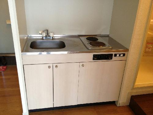 レオパレスGOLD 106号室のキッチン