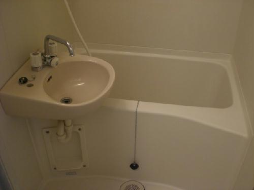 レオパレスエチュード 206号室の風呂