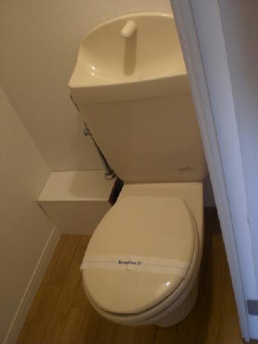 レオパレスエチュード 206号室のトイレ