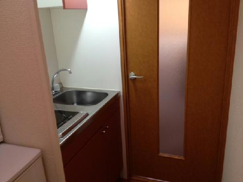 レオパレスクレール 109号室のキッチン