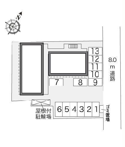 レオパレスクレール 109号室のその他