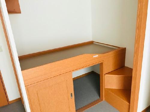 レオパレスボヌールエスパースF 208号室の収納
