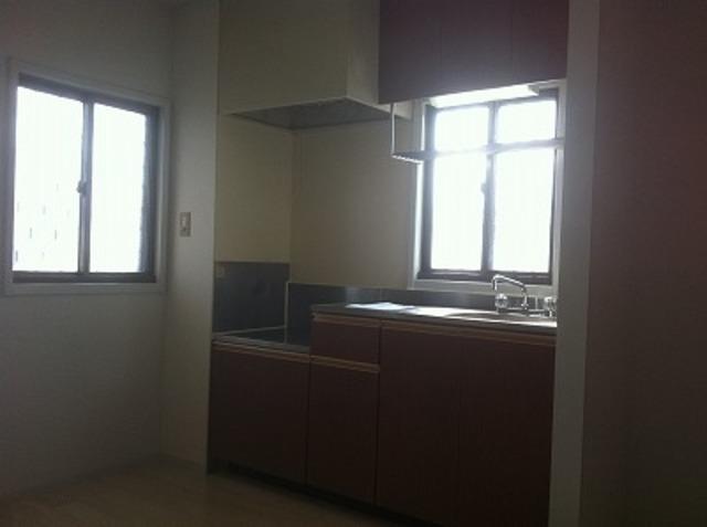 弥生ビル 205号室のキッチン