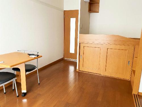 レオパレスmine 102号室のキッチン