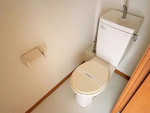 レオパレスmine 102号室のトイレ