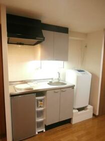 メゾン・ド・ヴィレ 恵比寿 0607号室のキッチン